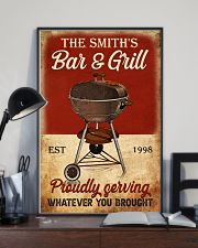 BAR AND GRILL  - CUSTOM NAME 11x17 Poster lifestyle-poster-2