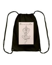 NAMASTE Drawstring Bag tile