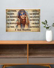 I AM - CUSTOM NAME 24x16 Poster poster-landscape-24x16-lifestyle-25