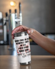 THEY'LL NEVER FIND YOU 20oz Tumbler aos-20oz-tumbler-lifestyle-front-20