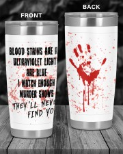 THEY'LL NEVER FIND YOU 20oz Tumbler aos-20oz-tumbler-lifestyle-front-55