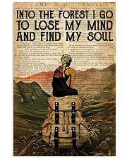 INTO THE FOREST I GO TO LOSE MY MIND 11x17 Poster front