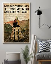 INTO THE FOREST I GO TO LOSE MY MIND 11x17 Poster lifestyle-poster-1
