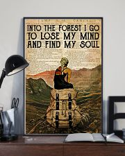 INTO THE FOREST I GO TO LOSE MY MIND 11x17 Poster lifestyle-poster-2
