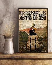 INTO THE FOREST I GO TO LOSE MY MIND 11x17 Poster lifestyle-poster-3