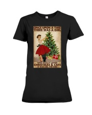 ONCE UPON A TIME THERE WAS A GIRL Premium Fit Ladies Tee tile