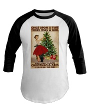 ONCE UPON A TIME THERE WAS A GIRL Baseball Tee tile