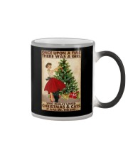 ONCE UPON A TIME THERE WAS A GIRL Color Changing Mug tile
