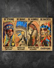 BE STRONG WHEN YOU ARE WEAK 17x11 Poster poster-landscape-17x11-lifestyle-12