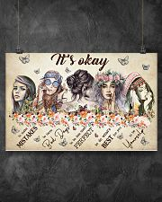 IT'S OKAY 17x11 Poster poster-landscape-17x11-lifestyle-12