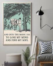 AND INTO THE BARN I GO TO LOSE MY MIND  11x17 Poster lifestyle-poster-1