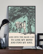 AND INTO THE BARN I GO TO LOSE MY MIND  11x17 Poster lifestyle-poster-2