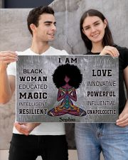 AFRICA YOGA GIRL - I AM  - CUSTOM NAME 24x16 Poster poster-landscape-24x16-lifestyle-21