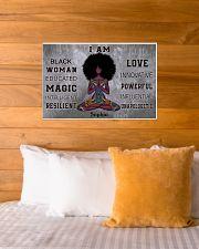 AFRICA YOGA GIRL - I AM  - CUSTOM NAME 24x16 Poster poster-landscape-24x16-lifestyle-27