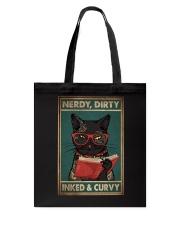 NERDY DIRTY INKED CURVY Tote Bag tile