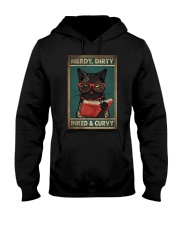 NERDY DIRTY INKED CURVY Hooded Sweatshirt tile
