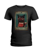 NERDY DIRTY INKED CURVY Ladies T-Shirt tile