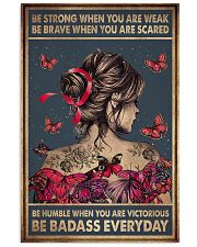 BE STRONG WHEN YOU ARE WEAK 11x17 Poster front