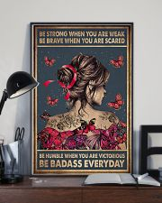 BE STRONG WHEN YOU ARE WEAK 11x17 Poster lifestyle-poster-2