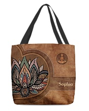 Yoga Leather Pattern Print All-over Tote front