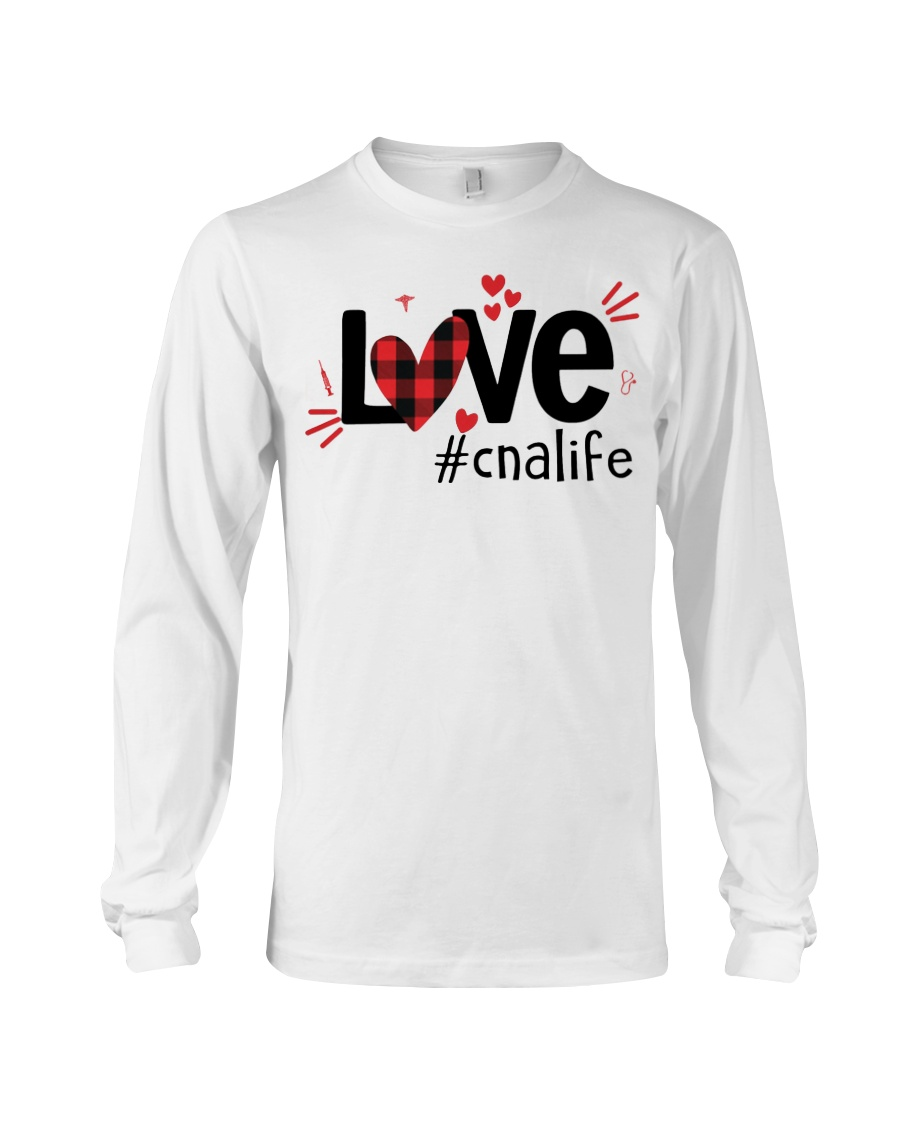 Love heart cnalife shirt Long Sleeve Tee