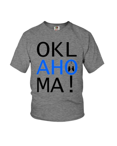 Youth OKLahoMA tee by Mike Bone