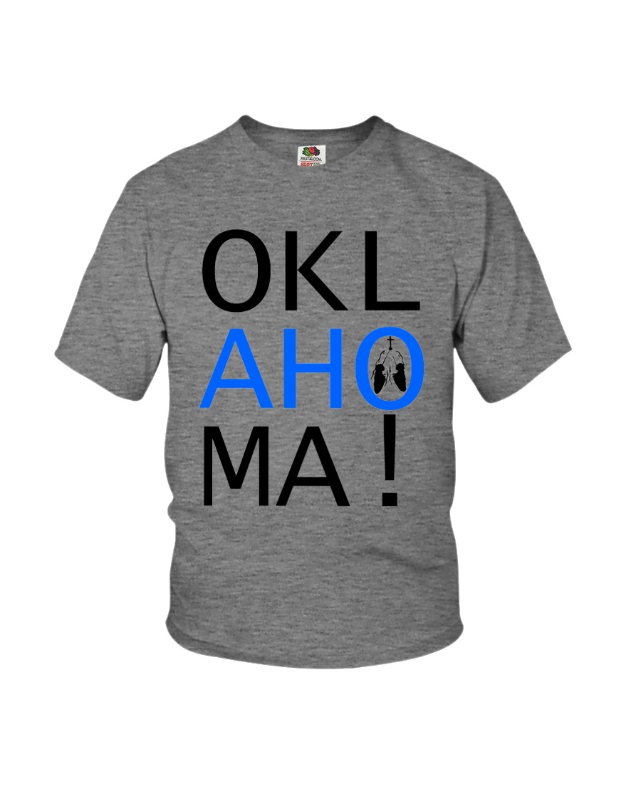 Youth OKLahoMA tee by Mike Bone Youth T-Shirt