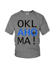 Youth OKLahoMA tee by Mike Bone Youth T-Shirt front