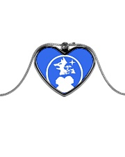 Mike Bone Jewels Metallic Heart Necklace thumbnail