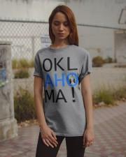 OKLahoMA tee by Mike Bone Classic T-Shirt apparel-classic-tshirt-lifestyle-18