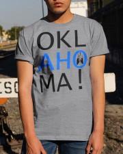 OKLahoMA tee by Mike Bone Classic T-Shirt apparel-classic-tshirt-lifestyle-29