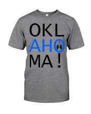 OKLahoMA tee by Mike Bone Classic T-Shirt front