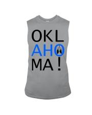 OKLahoMA tee by Mike Bone Sleeveless Tee thumbnail