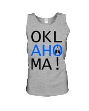 OKLahoMA tee by Mike Bone Unisex Tank thumbnail