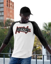 Mike Bone Graffiti Baseball Tee apparel-baseball-tee-lifestyle-13
