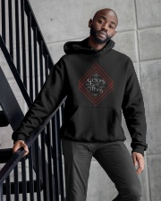 Gods Got This Hoodie by  Mike Bone Hooded Sweatshirt apparel-hooded-sweatshirt-lifestyle-front-10