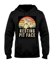 RESTING PIT FACE Hooded Sweatshirt thumbnail