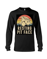 RESTING PIT FACE Long Sleeve Tee thumbnail