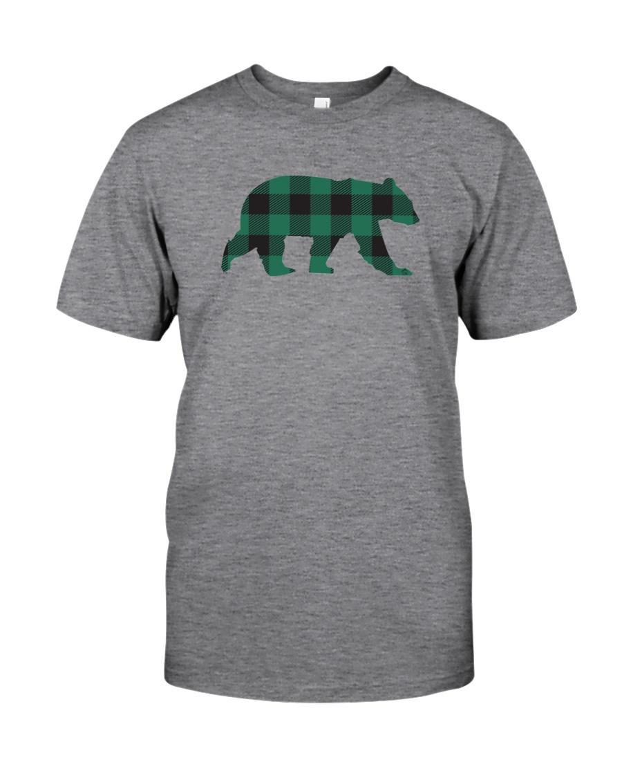 Green Flannel Bear Classic T-Shirt