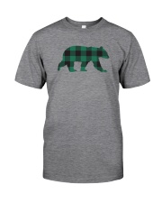 Green Flannel Bear Classic T-Shirt front