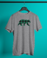 Green Flannel Bear Classic T-Shirt lifestyle-mens-crewneck-front-3