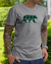 Green Flannel Bear Classic T-Shirt lifestyle-mens-crewneck-front-7