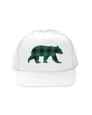 Green Flannel Bear Trucker Hat thumbnail