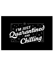 I'm Just Quarantined and Chilling Horizontal Poster tile