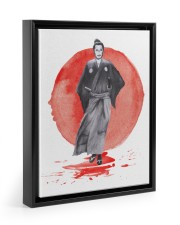 Yojimbo - Toshiro Mifune 11x14 Black Floating Framed Canvas Prints thumbnail