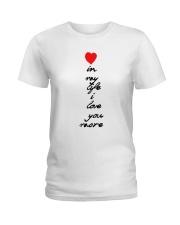 HP-D22021913-In My Life Ladies T-Shirt thumbnail