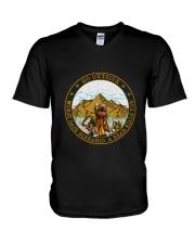 CP-D-25-2202192-A Bear Kills You V-Neck T-Shirt thumbnail