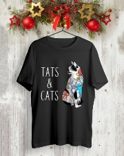 CAT TATTOO Classic T-Shirt lifestyle-holiday-crewneck-front-2
