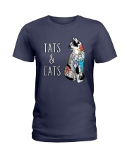 CAT TATTOO Ladies T-Shirt thumbnail
