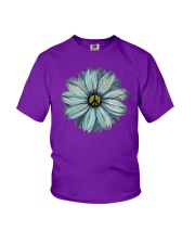 Flower Peace Youth T-Shirt tile